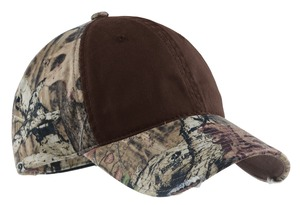 Port Authority - Camo Cap with Contrast Front Panel