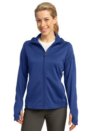 Sport-Tek - Ladies Tech Fleece Full-Zip Hooded Jacket